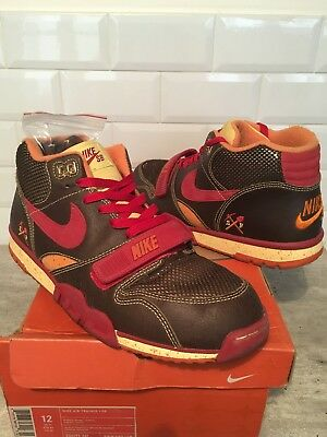 best sneakers c1fc8 e4b7b Vintage Nike Air Trainer 1 Gold diggaz 46US12