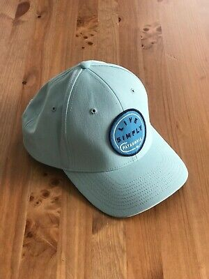 95b052a7d66f4 RARE PATAGONIA LIVE Simply Hook Roger That Hat in Tubular Blue ...