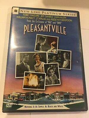 Pleasantville DVD Movie PG-13 Tobey Maguire Reese Witherspoon Comedy
