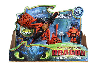Dreamworks How To Train Your Dragon 3, Hookfang, Snotlout, Monstrous Nightmare