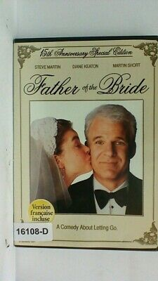 DVD Movie FATHER OF THE BRIDE Steve Martin   Original Jacket 07