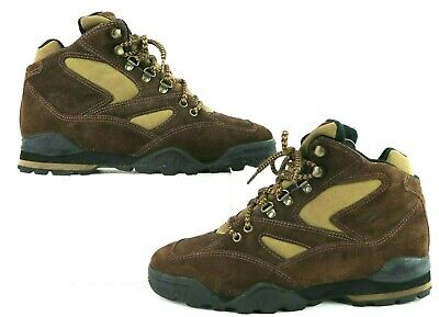 683eca266d2be VINTAGE REEBOK HIKING Boots Womens Size 8 Brown Suede Leather
