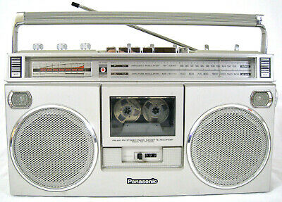 Panasonic RX-5090 AM-FM Cassette Vintage Boombox (FULLY SERVICED + NEW BELTS)