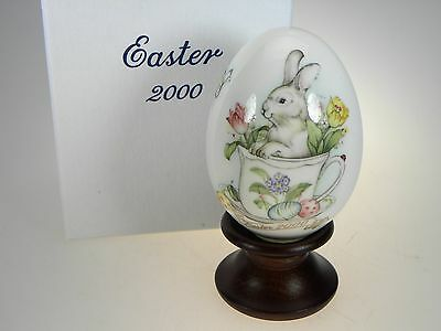 Noritake Easter Egg 2000 Limited Edition Bone China Made in Japan