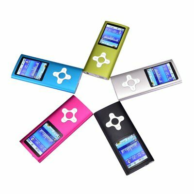 "8GB MP3 MP4 Player 1.8"" Digital LCD Screen FM Radio Video Games Movie LOT MSUX"
