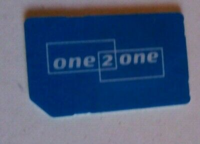 Vintage One 2 One Sim card.