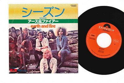 "7"" EARTH & FIRE Seasons DPQ6908 POLYDOR JAPAN Vinyl"