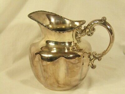 Vintage Derby Silver Plate Co. Pitcher