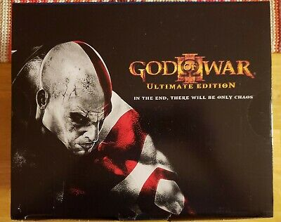 God Of War Iii 3 Ultimate Edition Playstation 3 Ps3 Limited Collectors Mint 🔥