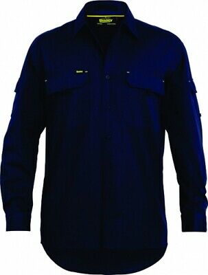 NEW Bisley Shirts  X Airflow Ripstop Navy - M - Safety Clothing -  Clothing