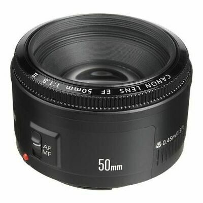 Canon Lens EF 50mm f/1.8 II 2514A002 FREE SHIPPING
