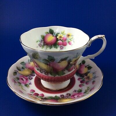 Royal Albert - Country Fayre Series - Surrey Bone China Tea Cup And Saucer