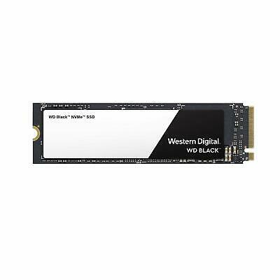 Western Digital WD Black SSD 250GB 500GB M.2 2280 NVMe PCIe 3400MB/s 5 years wty