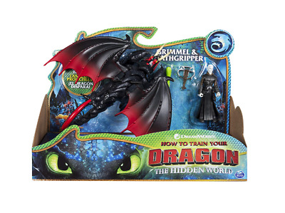 Dreamworks How To Train Your Dragon, Deathgripper & Grimmel, Armored Viking Toy