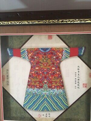 Miniature Chinese Clothes . Beautiful detail.