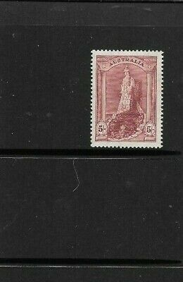 Stamps Aust Pre  Decimal   1948 4/- Thin Paper Robe  Muh