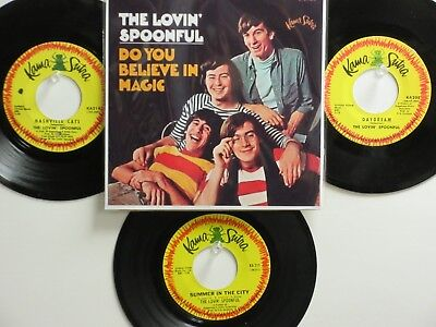 4 ' THE LOVIN' SPOONFUL ' HIT 45's+1P(Copy)[Do You Believe In Magic] THE 60's!