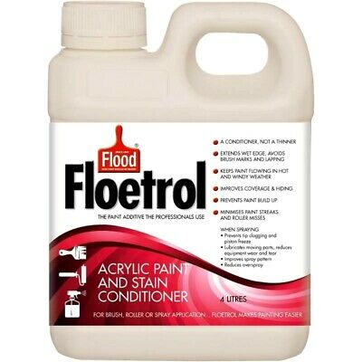 Floetrol ACRYLIC PAINT & STAIN CONDITIONER 4 Litre
