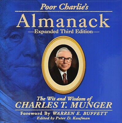 Poor Charlie's Almanack 3rd Edition by Charlie Munger Fast Delivery