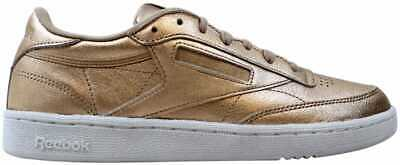 5dce3766318 Reebok Club C 85 Melted Metal Pearl Metallic Peach-White BS7899 Women s Size  10
