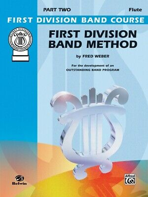 First Division Band Method Part 2 -Flute New old Stock