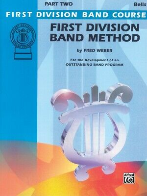 First Division Band Method Part 2 -BELLS New old Stock