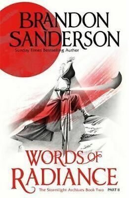 NEW Words of Radiance : Part 2 By Brandon Sanderson Paperback Free Shipping