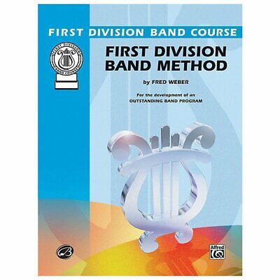 First Division Band Method Part 2 - Alto Clarinet New old Stock
