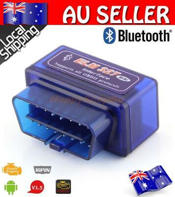 ELM327 Bluetooth Scanner OBDII OBD2 Car Torque Android CAN Tool Auto Scan Diag