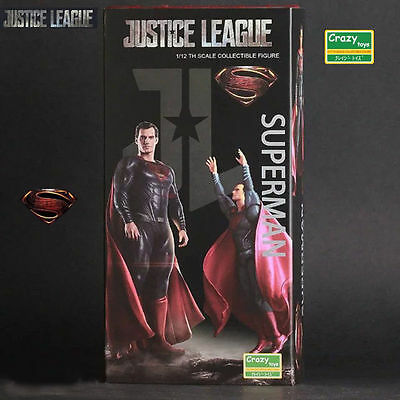 Justice League Superman 1/12Th Collectible Statue Model Action Figures Crazy Toy