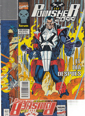 PUNISHER 2099   Nºs.  1.  2.   ( LOTE  2   NUMEROS ) FORUM.