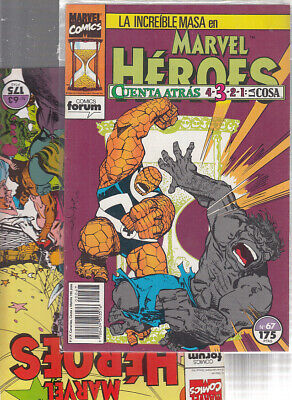 Marvel Heroes.   Nº.    67.     Forum.