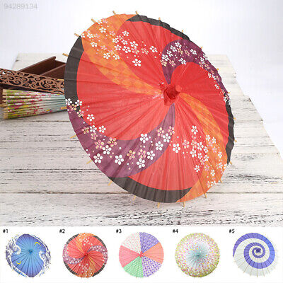 6E23 Wooden Wedding Umbrella Wedding Decoration Paper Umbrella Handmade