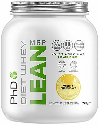 PhD Nutrition Diet Whey Lean Meal Replacement Powder