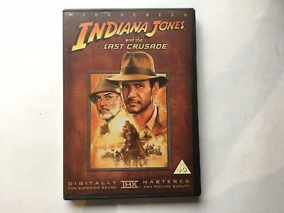 Indiana Jones And The Last Crusade -Digitally Thx Remastered Widescreen Dvd