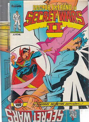 SECRET WARS.... Nºs.  31.  32 ( LOTE  2  NUMEROS  ) ..FORUM.