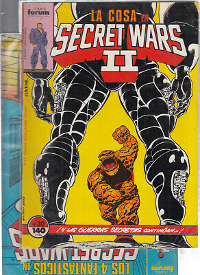 SECRET WARS.... Nºs.  30.  32 ( LOTE  2  NUMEROS  ) ..FORUM...
