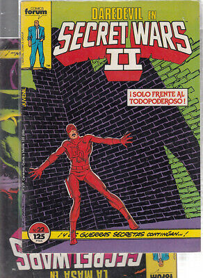 SECRET WARS.... Nºs.  22.  23. ( LOTE  2  NUMEROS  ) ..FORUM...