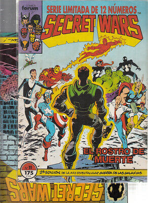 SECRET WARS.... Nºs.  11.   16.  ( LOTE  2  NUMEROS  ) ..FORUM...