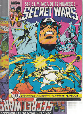 SECRET WARS.... Nºs.  6.  7.   ( LOTE  2  NUMEROS  ) ..FORUM...
