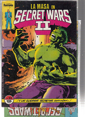 SECRET WARS.... Nºs.  23.  26.   ( LOTE  2  NUMEROS  ) ..FORUM...