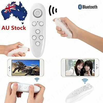 Wireless Bluetooth Gamepad Remote Controller For VR BOX PC Phones Android IOS @