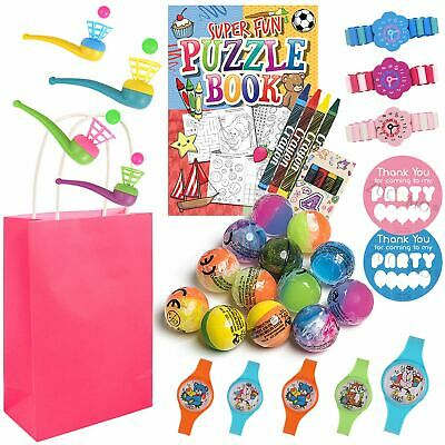 Girls Pre Filled Return Gifts Birthday Favour Party Gift Bags Fillers Kids Party