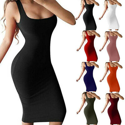 Fashion Women Sexy One-Shoulder Hollow Out Sleeveless Solid Slim Club Mini Dress