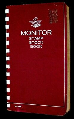 Worldwide Old Stamp Collection Lot of 500 MNH MH & Used Old Monitor Stock Book