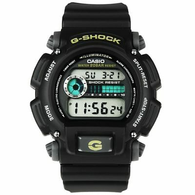 Casio Men's G-Shock Chronograph, Resin Strap, Alarm, 200 Meter Watch DW9052-1B