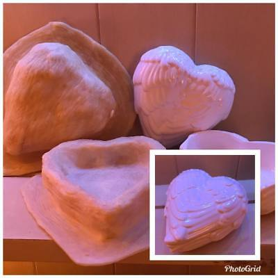 2 xLatex Moulds for making this BEAUTIFUL ANGEL WING LIDDED DISH