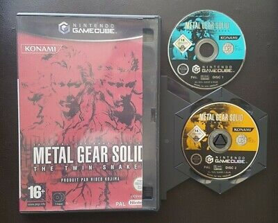 Metal Gear Solid: The Twin Snakes pour Nintendo Gamecube LIRE DESCRIPTION