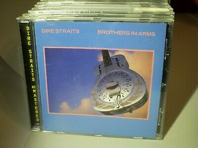 DIRE STRAITS-Brothers In Arms-Remaster-cd-NMint--UK SELLER
