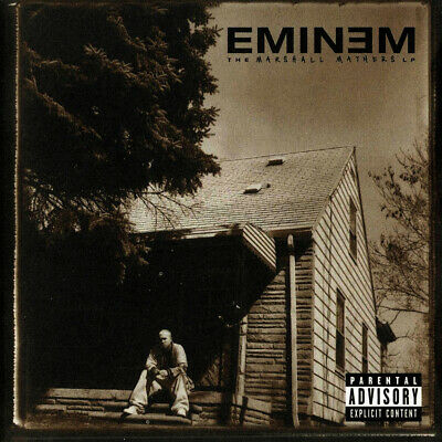 Eminem - The Marshall Mathers LP Album Cover Poster Giclée